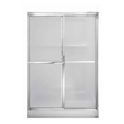 American Standard Acrylux Stainless Steel Shower Door