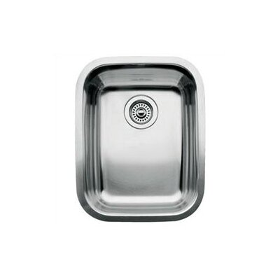 "Blanco Supreme 20.47"" x 16.16"" x 8"" Single Bowl Undermount Kitchen Sink"
