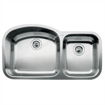 Blanco Wave 1.75 Bowl Undermount Kitchen Sink