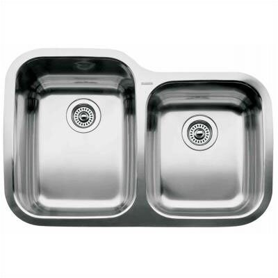 "Blanco Supreme 31.31"" x 20.88"" x 10"" Bowl Undermount Kitchen Sink"