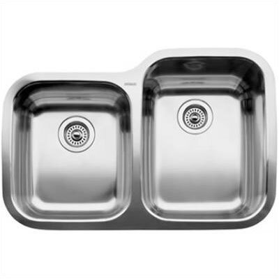 Blanco Supreme 1.75 Reverse Bowl Undermount Kitchen Sink
