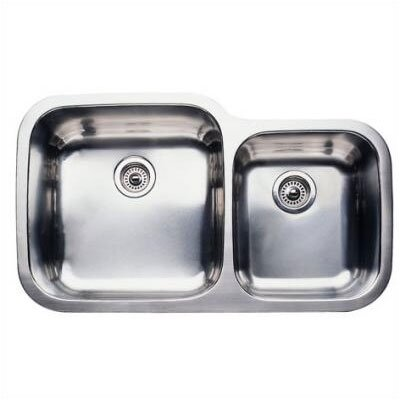 "Blanco Supreme 35.44"" x 20.88"" Super Bowl Undermount Kitchen Sink"