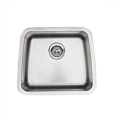 "Blanco Performa 20"" x 17"" Single Bowl Kitchen Sink"