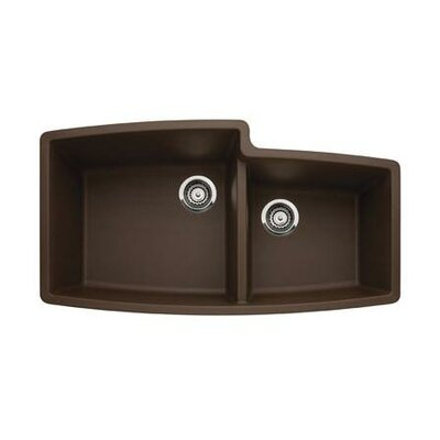 Blanco Performa 1.75 Bowl Undermount Kitchen Sink in Cafe Brown