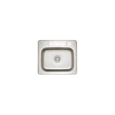 "Blanco Spex II 25"" x 22"" Single Bowl Self-Rimming Kitchen Sink"