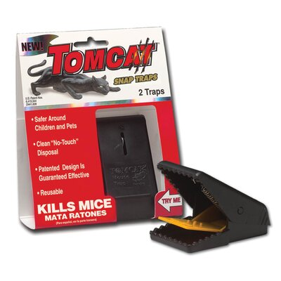 Tomcat Mouse Snap Trap (Set of 2)