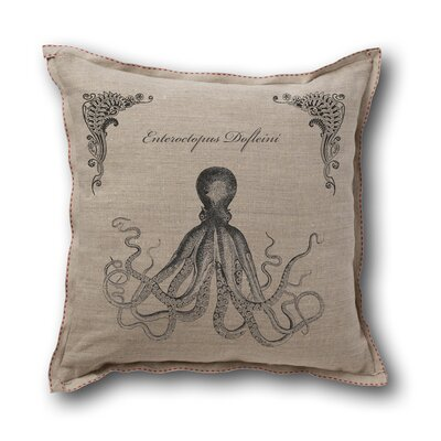 Museum of Robots Retro-Futuristic Artifacts Giant Octopus Pillow Cover