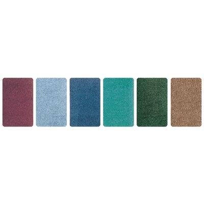 Carpets for Kids Solid Mt. St. Helens Emerald Green Kids Rug
