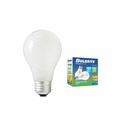 Bulbrite Industries 29W A19 Halogen Bulb in Soft White (Pack of 2)