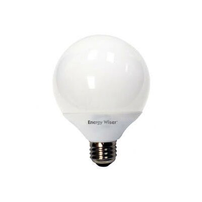 Bulbrite Industries 14W G25 Compact Fluorescent Globe Bulb in Soft Daylight