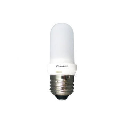 Bulbrite Industries 100W Frost Halogen T8 Bulb  in Warm White