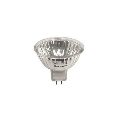Bulbrite Industries 50W Clear Halogen MR16 Bi-Pin Lensed Bulb in Bright White