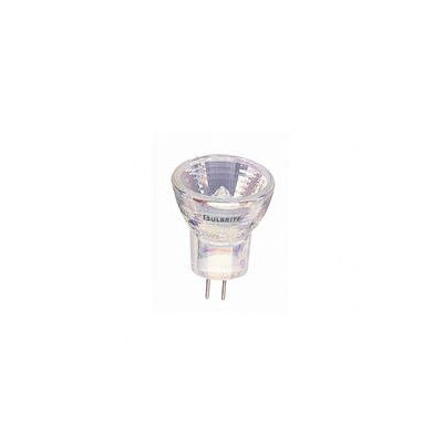 Bulbrite Industries 35W Clear Halogen MR8 Lensed Bi-Pin Bulb