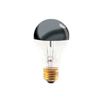 Bulbrite Industries 100W Half Chrome A21 A Shape Bulb