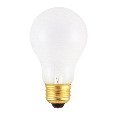 Bulbrite Industries 100W Incandescent A19 Rough Service Bulb in Warm White