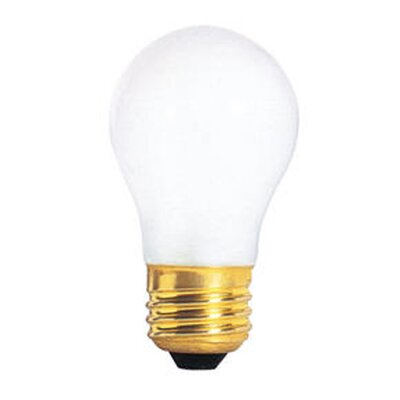 Bulbrite Industries 60W Incandescent A15 Fan Bulb in Frost