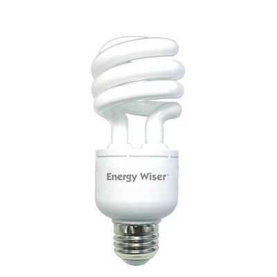 Bulbrite Industries 18W Energy Wiser Dimmable Compact Fluorescent Coil in Warm White