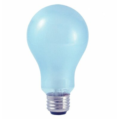"Bulbrite Industries ""See Better, Feel Better"" Full Spectrum True Daylight 3-Way A19 Bulb in Clear Neodymium"