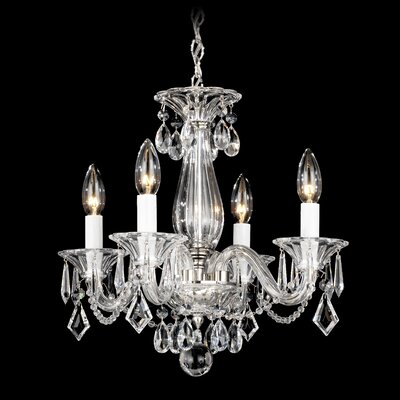 Allegro 4 Light Mini Chandelier