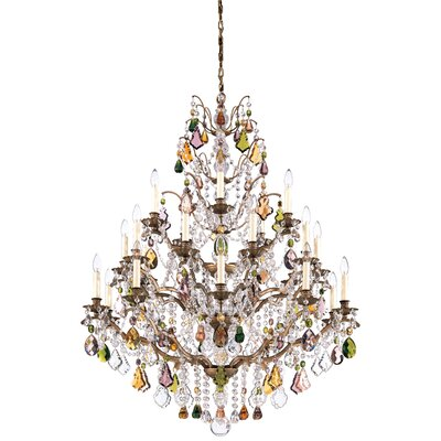 Bordeaux 25 Light Chandelier