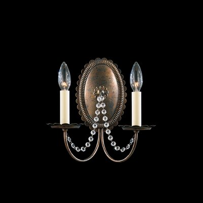 Schonbek Early American Two Light Wall Sconce
