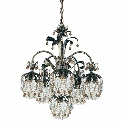 Schonbek Rondelle 6 Light Chandelier