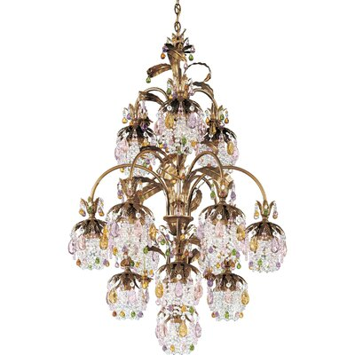 Schonbek Rondelle 13 Light Chandelier