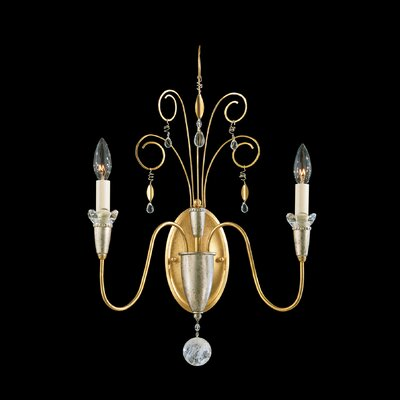 Schonbek Timbrel Two Light Wall Sconce