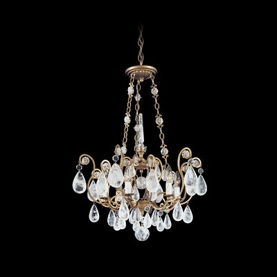 Schonbek Versailles Rock Crystal 6 Light Pendant