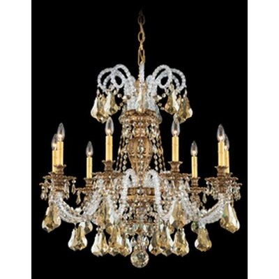 Schonbek Isabelle 9 Light Chandelier