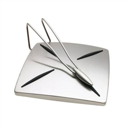 Cuisipro Satin Finish Napkin Holder with Pendulum Arm