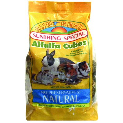 SunSeed Alfalfa Cubes Food