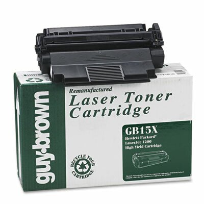 Guy Brown Products GB15X (C7115X) Laser Cartridge, High-Yield, 3500 Page-Yield,