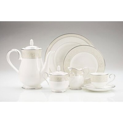 Montvale Platinum Dinnerware Set