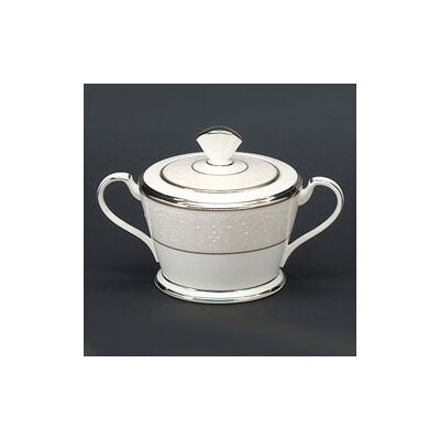 Noritake Silver Palace 12 oz. Sugar Bowl with Cover