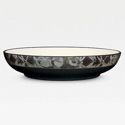 "Noritake Elements Onyx 12"" Pasta Serving Bowl"