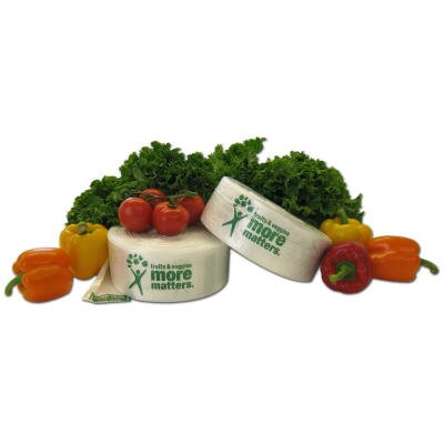 Inteplast Group Produce Bag, 9 Microns in Natural, 875/Roll