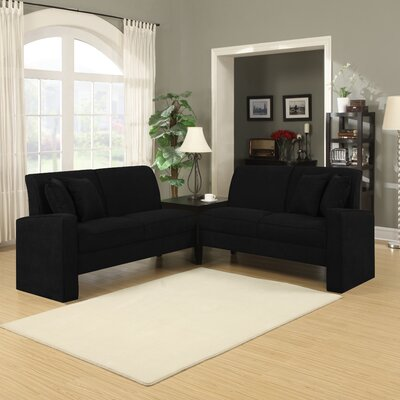 Handy Living Cait 3 Piece Living Room Set