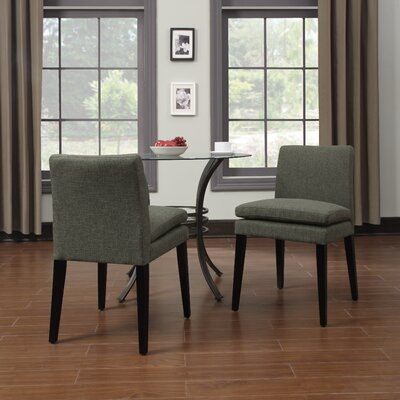Handy Living Oslo Smoky Side Chair (Set of 2)