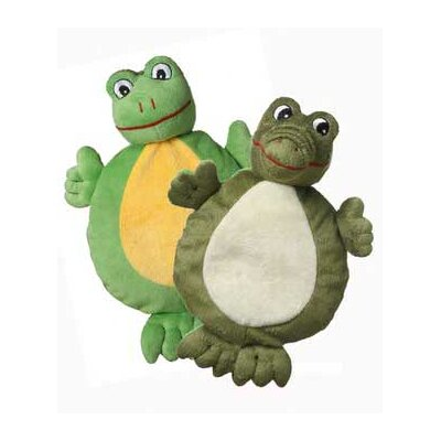 MultiPet Two Faced Alligator and Frog Plush Toy