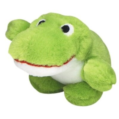 MultiPet Look Who's Talking Frog Plush Toy