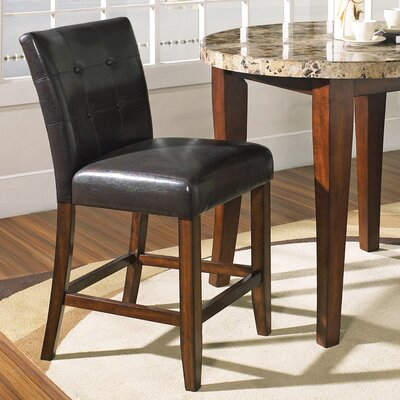 Montibello Counter Height Dining Chair in Multi-Step Rich Cherry
