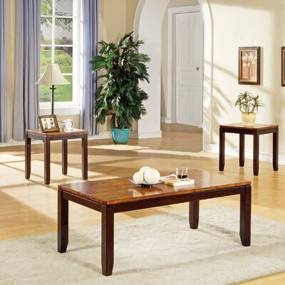 Steve Silver Furniture Abaco 3 Piece Coffee Table Set