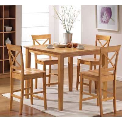 Steve Silver Furniture Cobalt 5 Piece Counter Height Dining Set