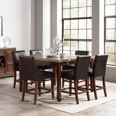 Steve Silver Furniture Clayton Counter Height Dining Table