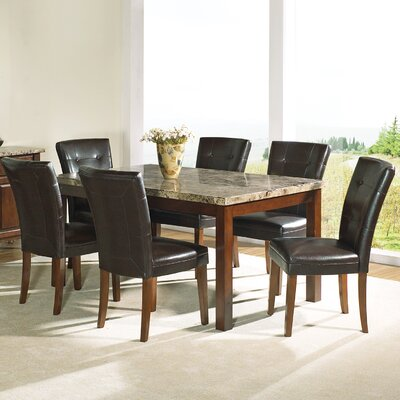 Steve Silver Furniture Montibello 7 Piece Large Dining Set