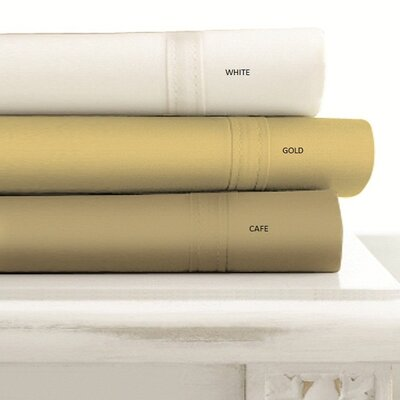 Tribeca Living 500 Thread Count Egyptian Cotton Extra Deep Pocket 6 Piece Sheet Set