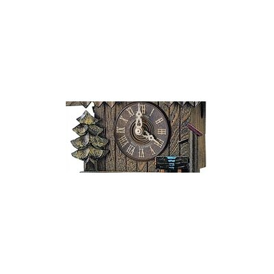 "Schneider 8"" Cuckoo Clock with Chimney Sweep"