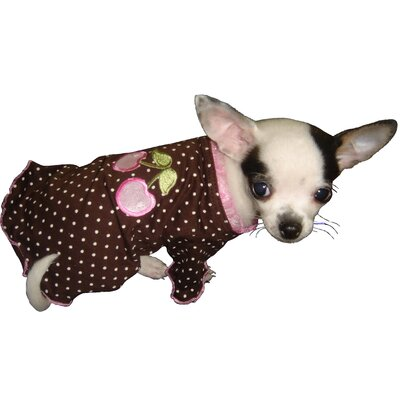 Hip Doggie Cherry Dog Blouse in Pink