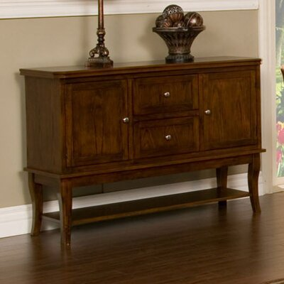 Alpine Furniture Oakdale Server